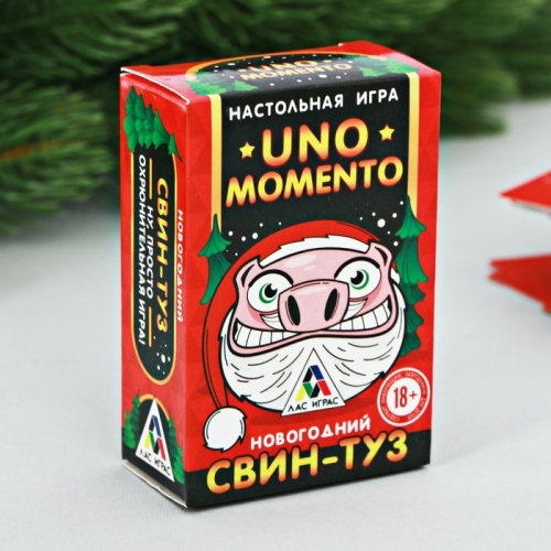Игра новогодняя Uno momento