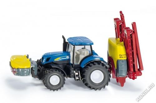 Трактор с опрыскивателем