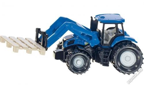 Трактор с вилами для паллет