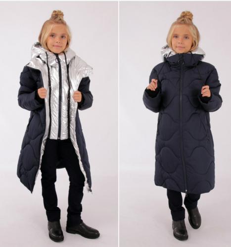 4964 Пальто зимнее для девочки