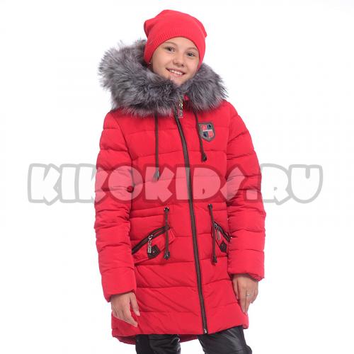 4562Б Пальто зимнее для девочки