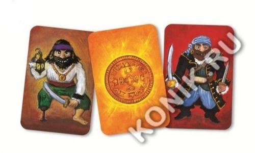 Детская наст.карт. игра Пират