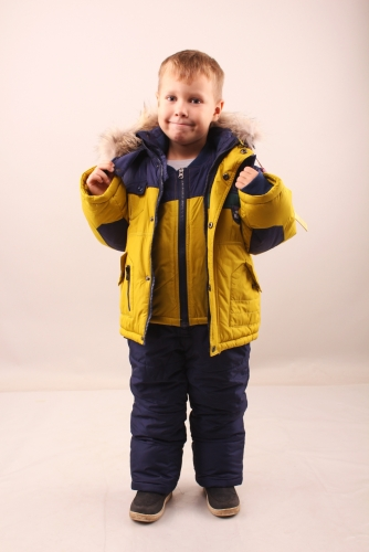 Комплект (куртка+полукомбинезон+жилет)