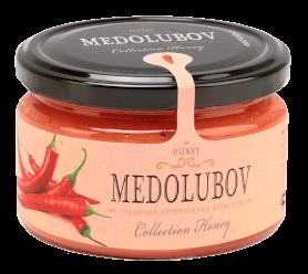 Крем-мёд Медолюбов с перцем чили 250мл