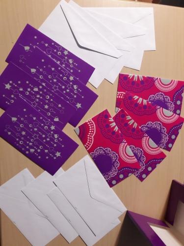 Набор из 8 открыток и 8 конвертов