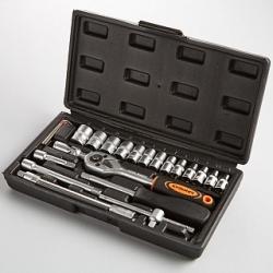 Набор ручного инструмента КУЗЬМИЧ НИК-018/24 24 предметов в кейс (20)