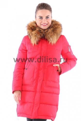 Куртка Visdeer с мехом 6330_Р (Красный 07)