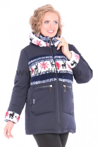 Куртка Black Leopard 0769_Р (Синий 56)