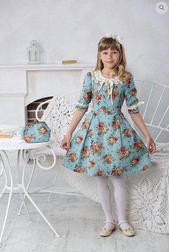 Платье МТ 16-1 бирюза