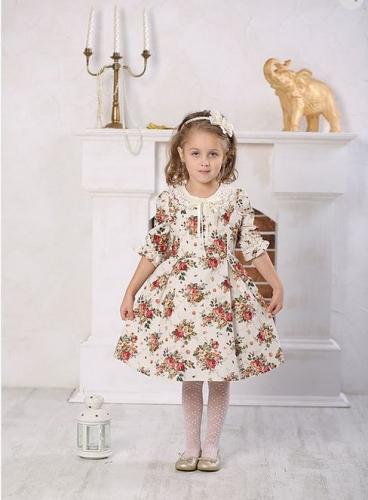 Платье МТ 16-1 лен букет