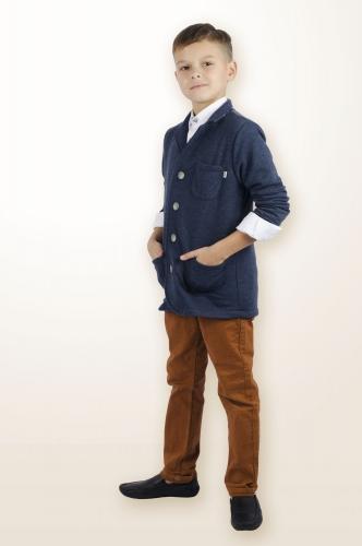Пиджак 881А синий