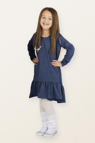 Платье 872А3 синий
