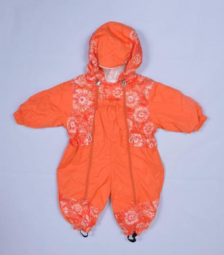 Комбинезон-ветровка Бабочка  Расцветка: Оранж/одуванчик оранж