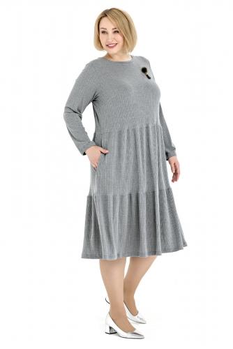 Платье 11555 3200р сер