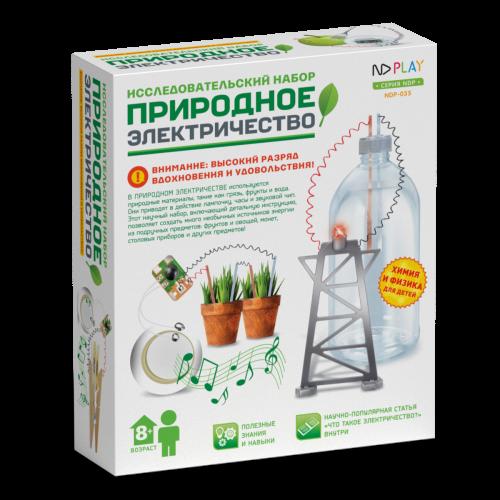 Исследовательский набор Природное электричество 6 в 1