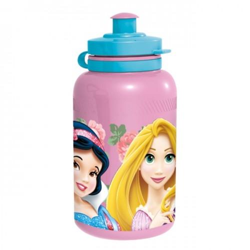 Бутылка пластиковая (спортивная, 400 мл). Принцессы