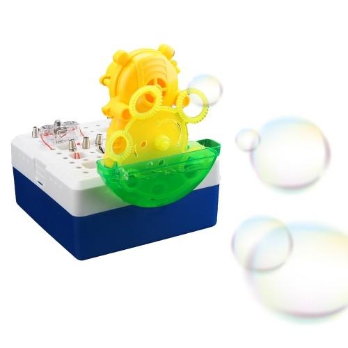 Электронный конструктор Шоу мыльных пузырей