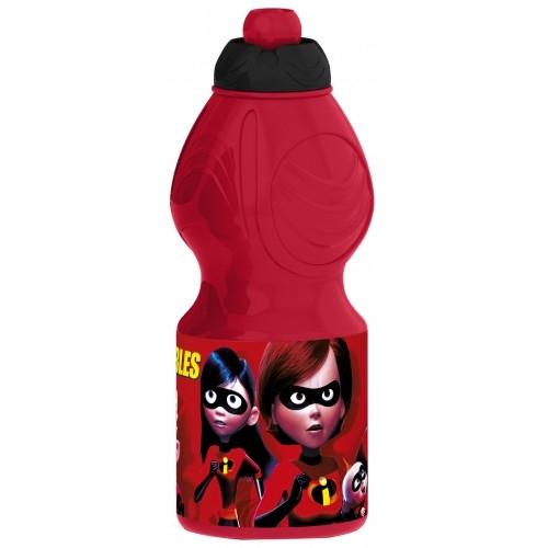 Бутылка пластиковая (спортивная, фигурная, 400 мл). Суперсемейка 2