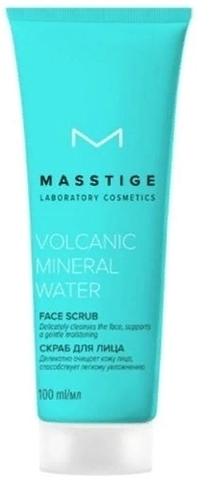 Скраб для лица (100мл) Volcanic Mineral Water MASSTIGE