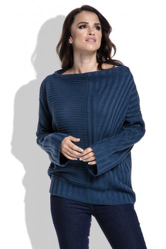 Fimfi I212 свитер синий 1550р