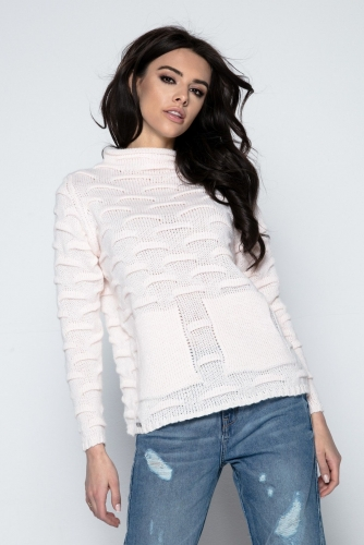 Fobya F486 свитер розовый 1570р