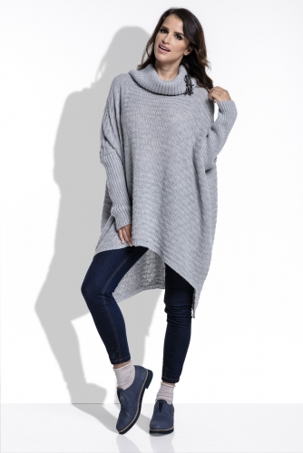 Fimfi I213 свитер серый 1860р