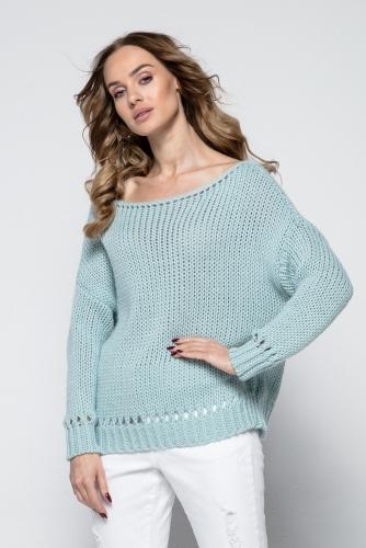 Fimfi I242 свитер фисташка 1570р