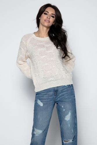 Fobya F502 свитер бежевый 1570р