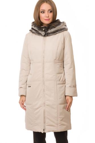 Утепленное пальто #67208