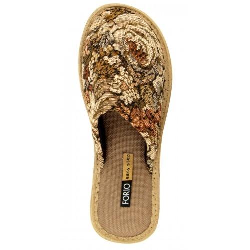 Бронь 1 ряд!  Тапочки женские (обувь домашняя комнатная) 135-5655 Ф