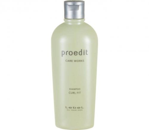 Lebel Proedit Curl Fit Shampoo - Восстанавливающий шампунь для кудрявых волос