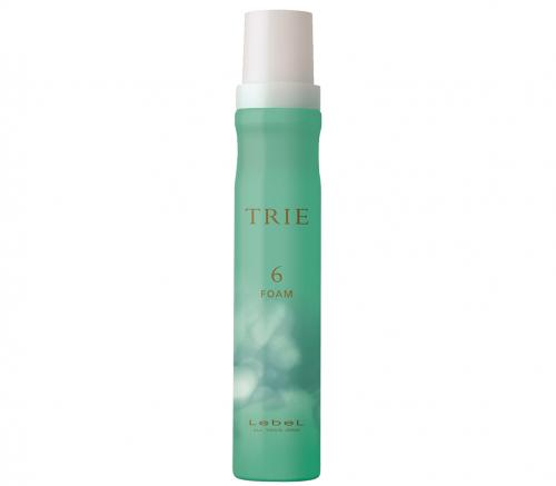 Lebel TRIE FOAM 6 - Пена для укладки волос средней фиксации