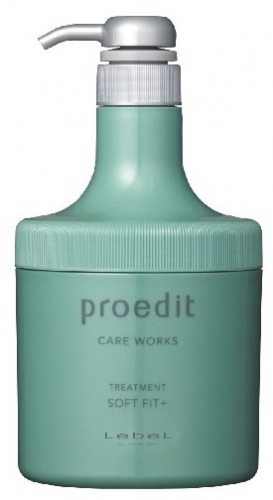 Lebel Proedit Soft Fit+ Treatment - Интенсивно увлажняющая маска для жестких/очень поврежденных волос