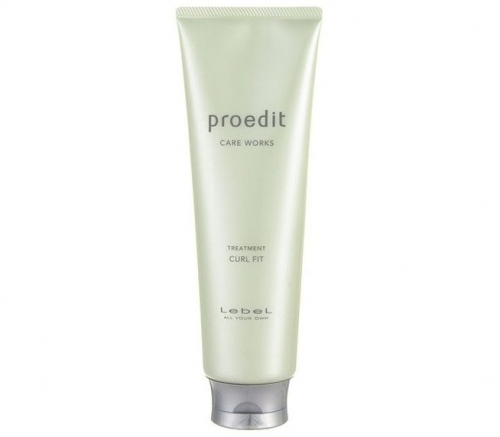 Lebel Proedit Curl Fit Treatment - Восстанавливающая маска для кудрявых волос