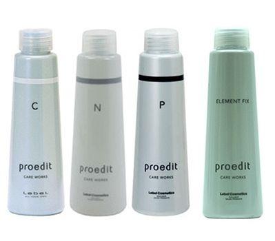 Lebel Набор сывороток C ,P, N, Element Fix - для программы Абсолютное счастье для волос