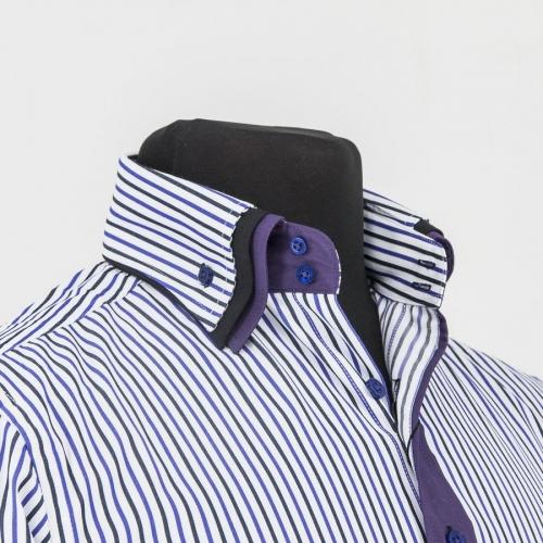 Мужская рубашка 218-3-m32s-mbustr