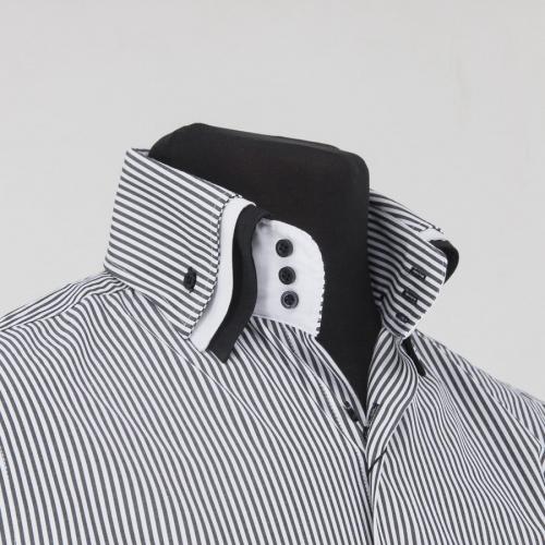 Мужская рубашка 217-4-m33s-stblk