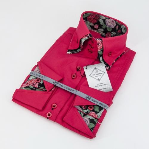 Женская блузка 304-48-w23f-pjred1