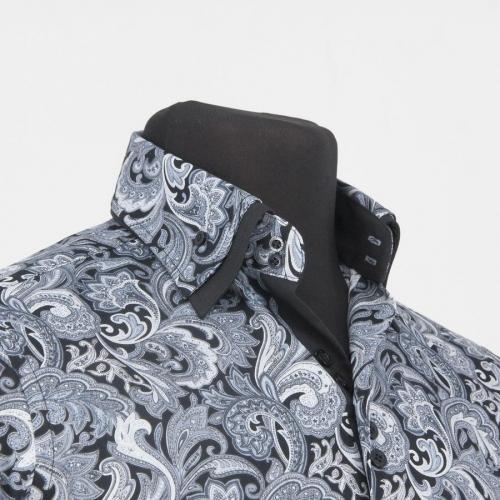 Мужская рубашка 219-1-m22s-psgrey