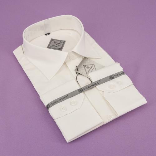 Мужская рубашка 229-17-m11n-pivy