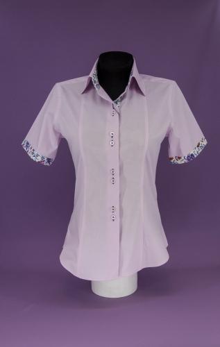 Женская блузка 313-5-ws12f-plpur