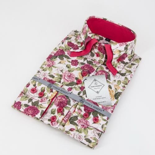 Женская блузка 315-12-w22s-flpnk