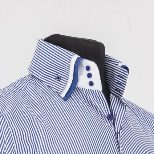 Мужская рубашка 217-3-m33s-stdbu