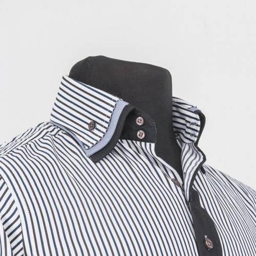 Мужская рубашка 218-4-m32s-mbustr