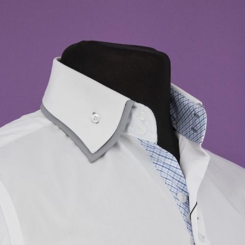 Мужская рубашка 208-3-m22sc-pwht