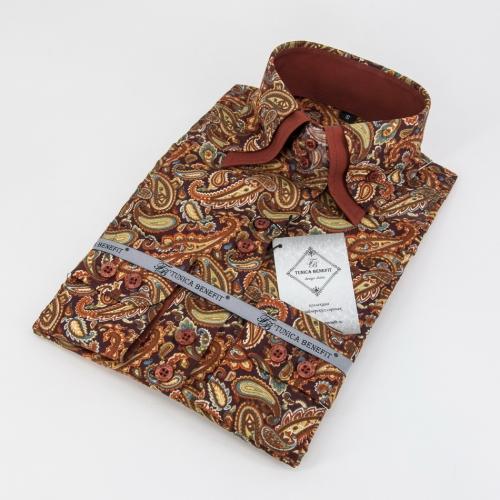Женская блузка 315-8-w22s-flblk