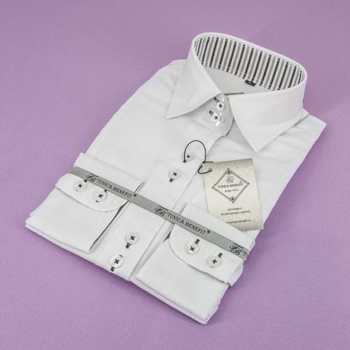 Женская блузка 321-1-w12st-fwht