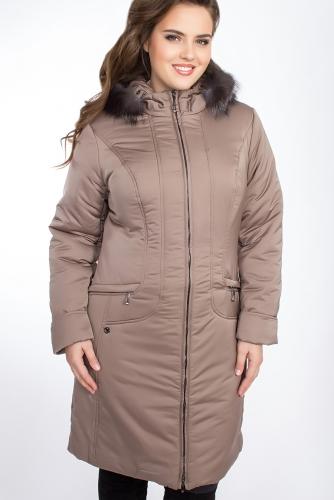 Пальто #24716Какао