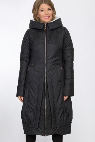 Пальто #53481Черный
