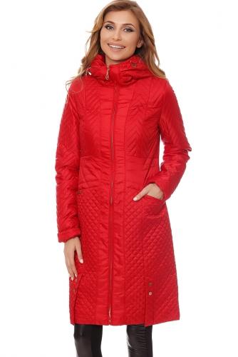 Пальто #60578Красный